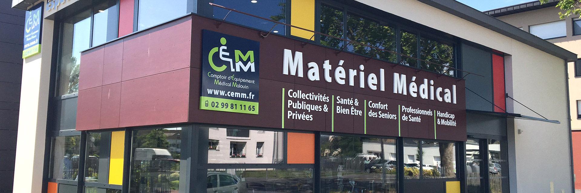 CEMM, magasin de matériel médical à Saint-Malo