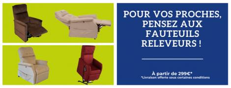 Pour vos proches, pensez aux fauteuils releveurs !